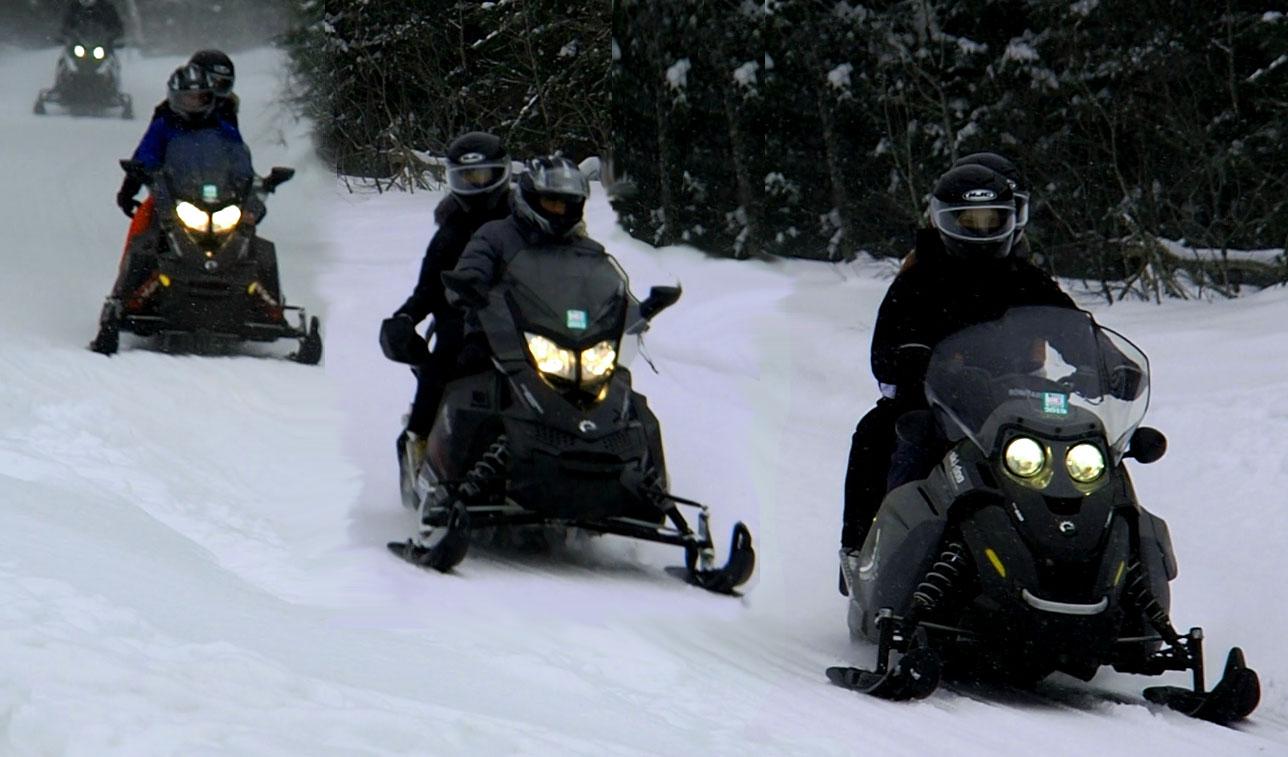 snowmobile, snowmobiling, tours, trips, guided snowmobile tours, ontario, ottawa, algonquin park, barrie, Toronto