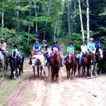 Trail Riding with the girls